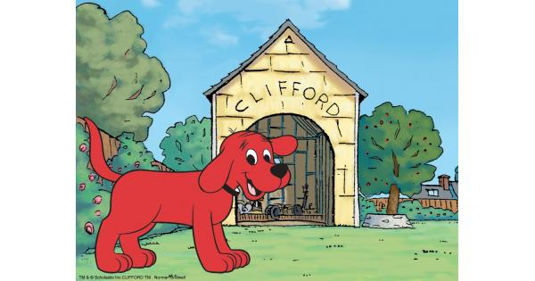 Bad dog dog house clipart picture freeuse Clifford the Big Red Dog TV Review picture freeuse