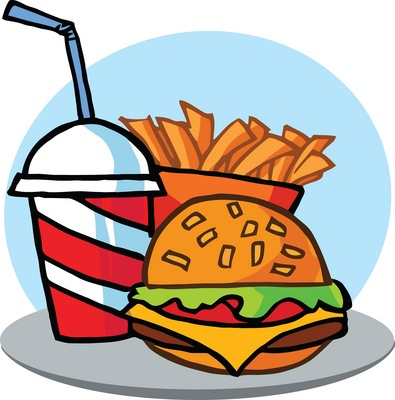 Free Junk-Food Cliparts, Download Free Clip Art, Free Clip Art on ... clip art black and white download