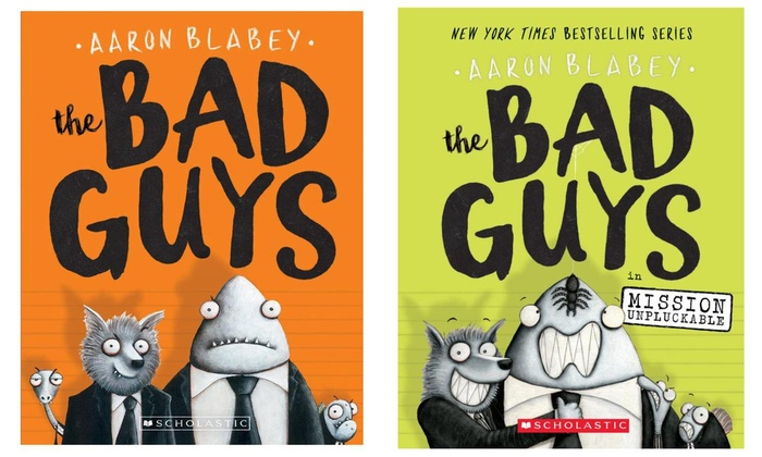 Bad guys by blabey clipart clip library download The Bad Guys Series Kids\' Books 1–6 | Groupon clip library download