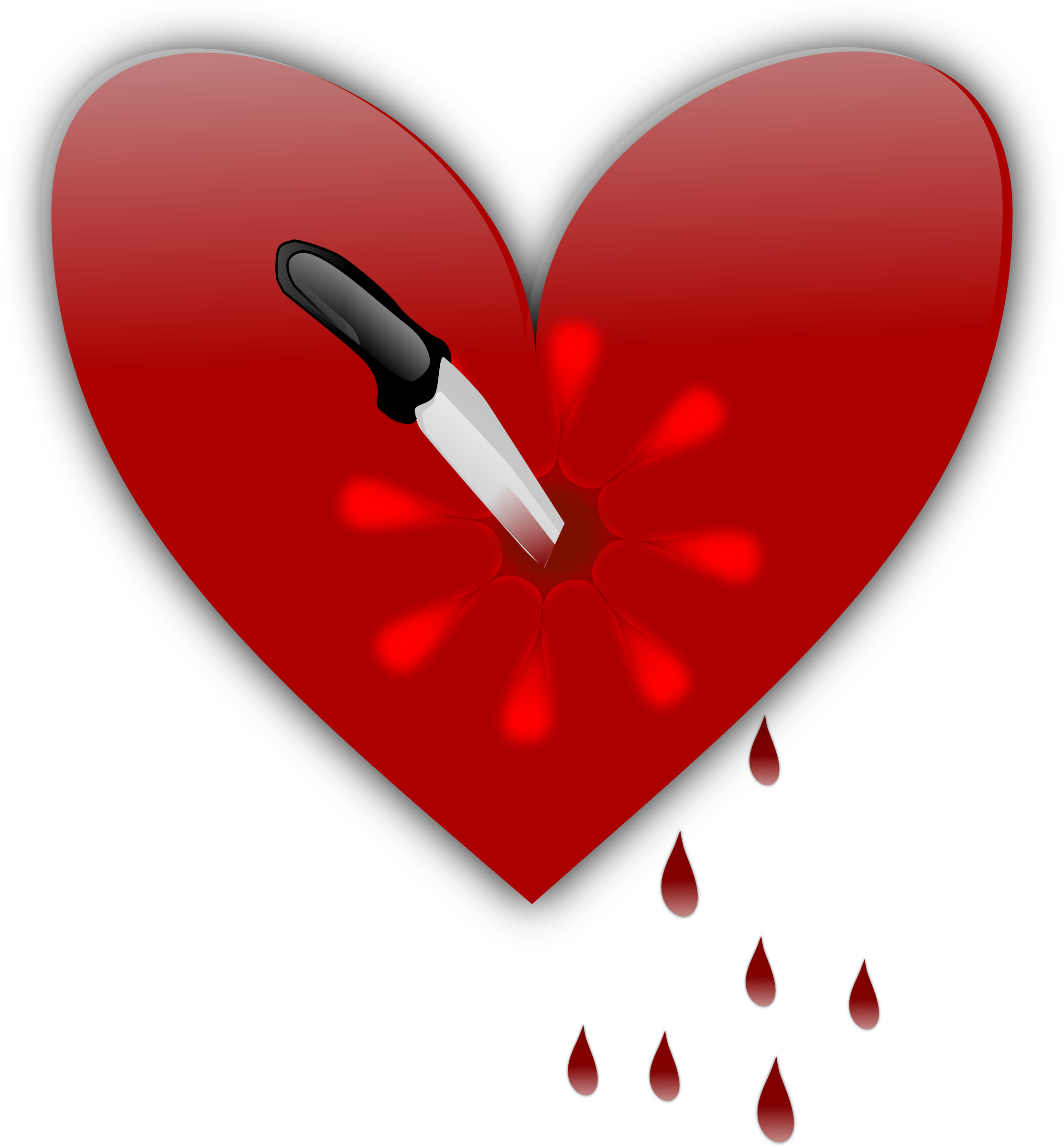 Bad heart clipart svg transparent Broken Heart Clipart Gambar svg transparent