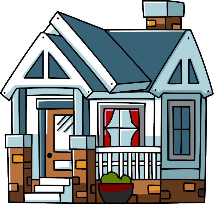 Bad house clipart clip stock Image - Bungalow.png | Scribblenauts Wiki | FANDOM powered by Wikia clip stock