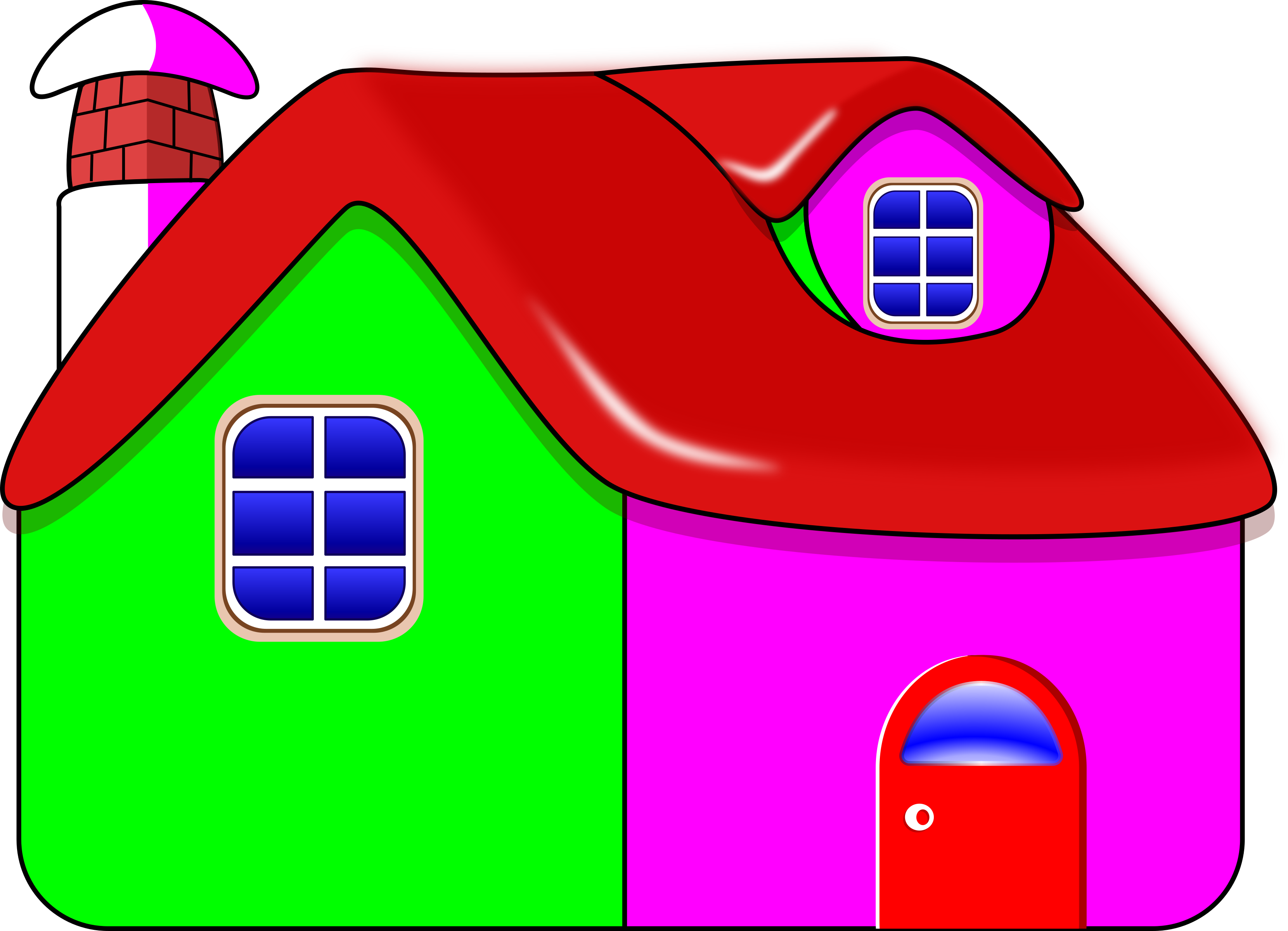 Free clipart new house vector free Three Little Pigs Houses Clipart at GetDrawings.com | Free for ... vector free