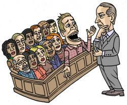 Bad jury clipart picture library download Trial Practice Tips - They say the jury trial lawyer is a dying ... picture library download