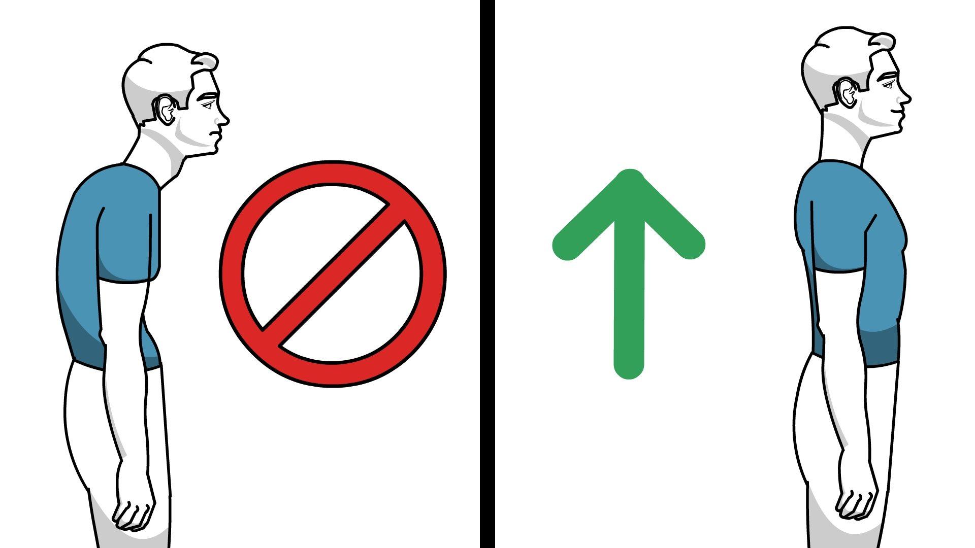 Bad posture clipart vector free download Posture: Do\'s and Dont\'s | Hadlines vector free download