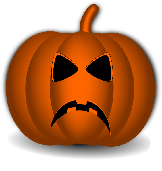 Clipart unhappy pumpkin protesting jpg transparent download Sad Pumpkin Clip Art at Clker.com - vector clip art online, royalty ... jpg transparent download