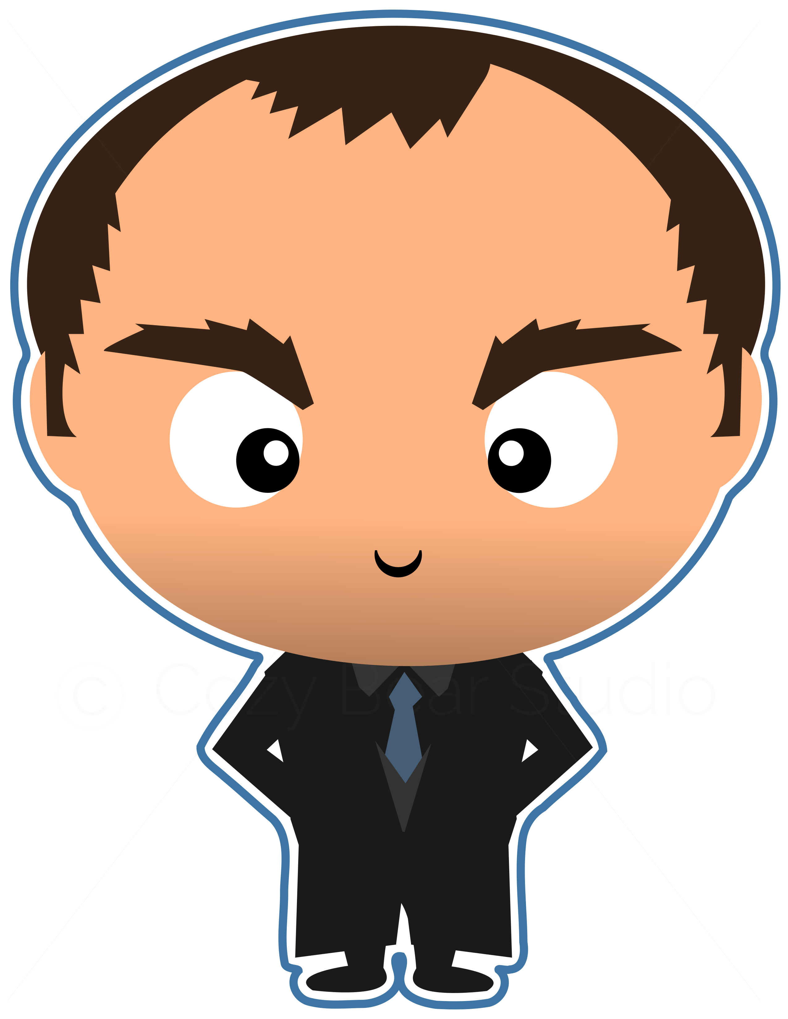 Bad school clipart svg library Supernatural Clipart - Crowley Cute Funko Pop, Mark Sheppard ... svg library