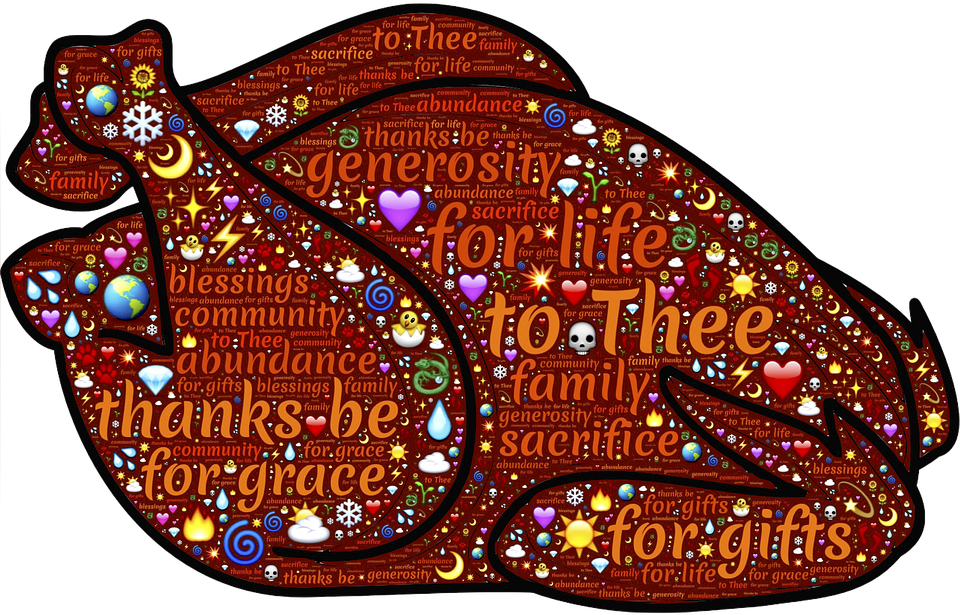 Bad thanksgiving meal clipart jpg freeuse library Art & Soul - The Art Of Well Being: Gratitude Is Not Just For ... jpg freeuse library