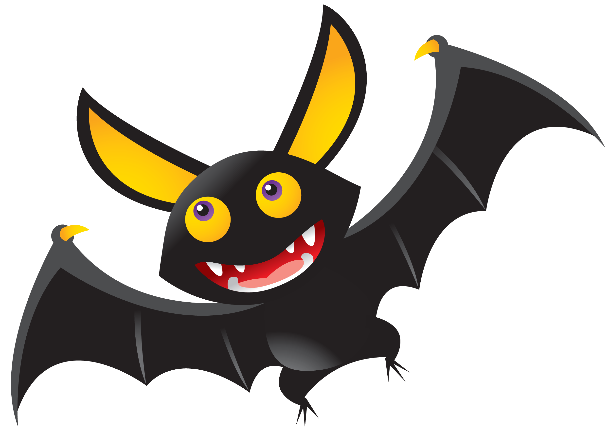 Clipart bats halloween picture free stock Free Happy Halloween Clip Art - Cliparts.co | Halloween Clipart ... picture free stock