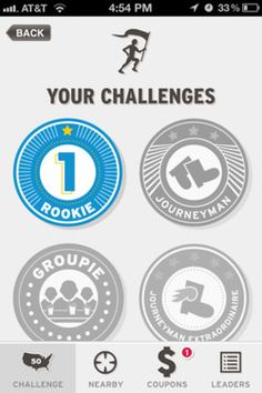 Badge app clipart iphone picture freeuse stock iPhone Screenshot 5 | GUI | Pinterest | Nike, Badges and Training picture freeuse stock