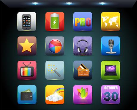 Badge app clipart iphone image Vector app icons free vector download (14,021 Free vector) for ... image
