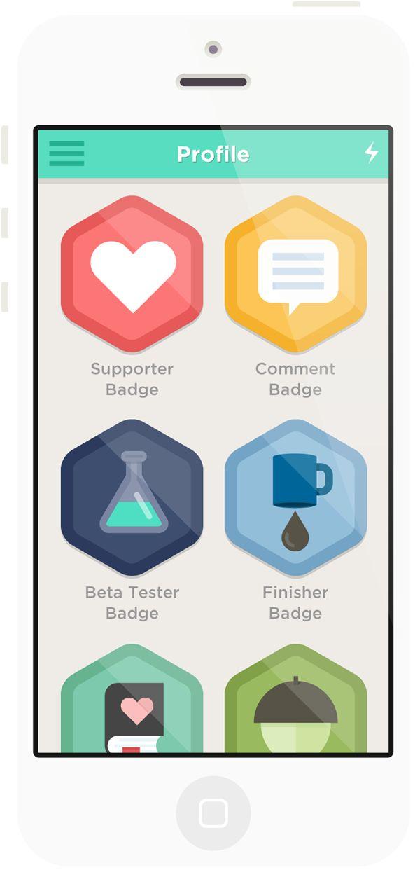 Badge app clipart iphone clipart download 17 Best images about Undeadpickle UI - Achievement Badges ... clipart download
