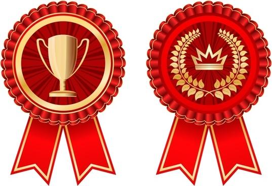 Badge award ribbon clipart svg image stock Medal badge ribbon free vector download (5,998 Free vector) for ... image stock