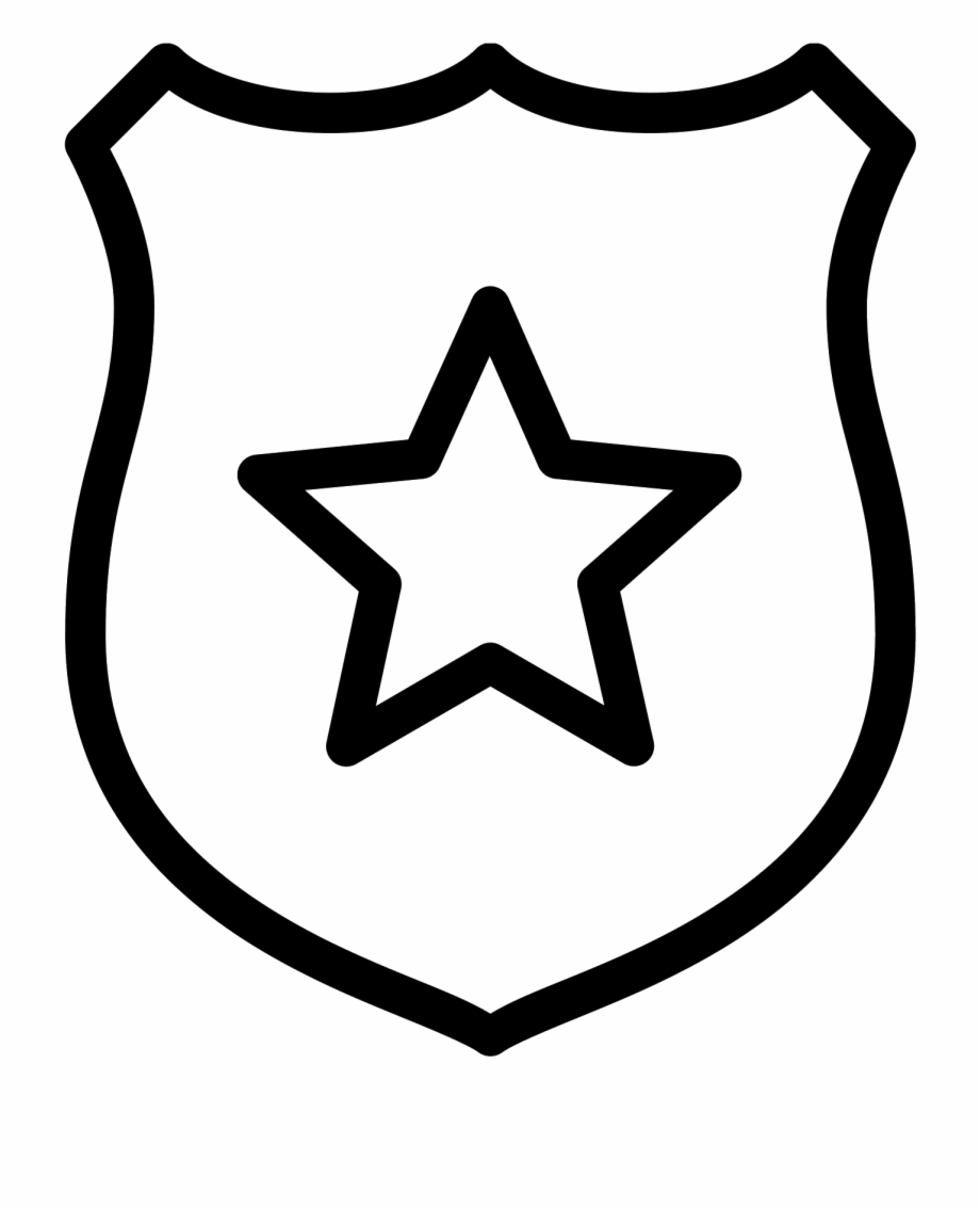Badge clipart jpg black and white library File - Police Badge Clipart Free PNG Images & Clipart Download ... jpg black and white library
