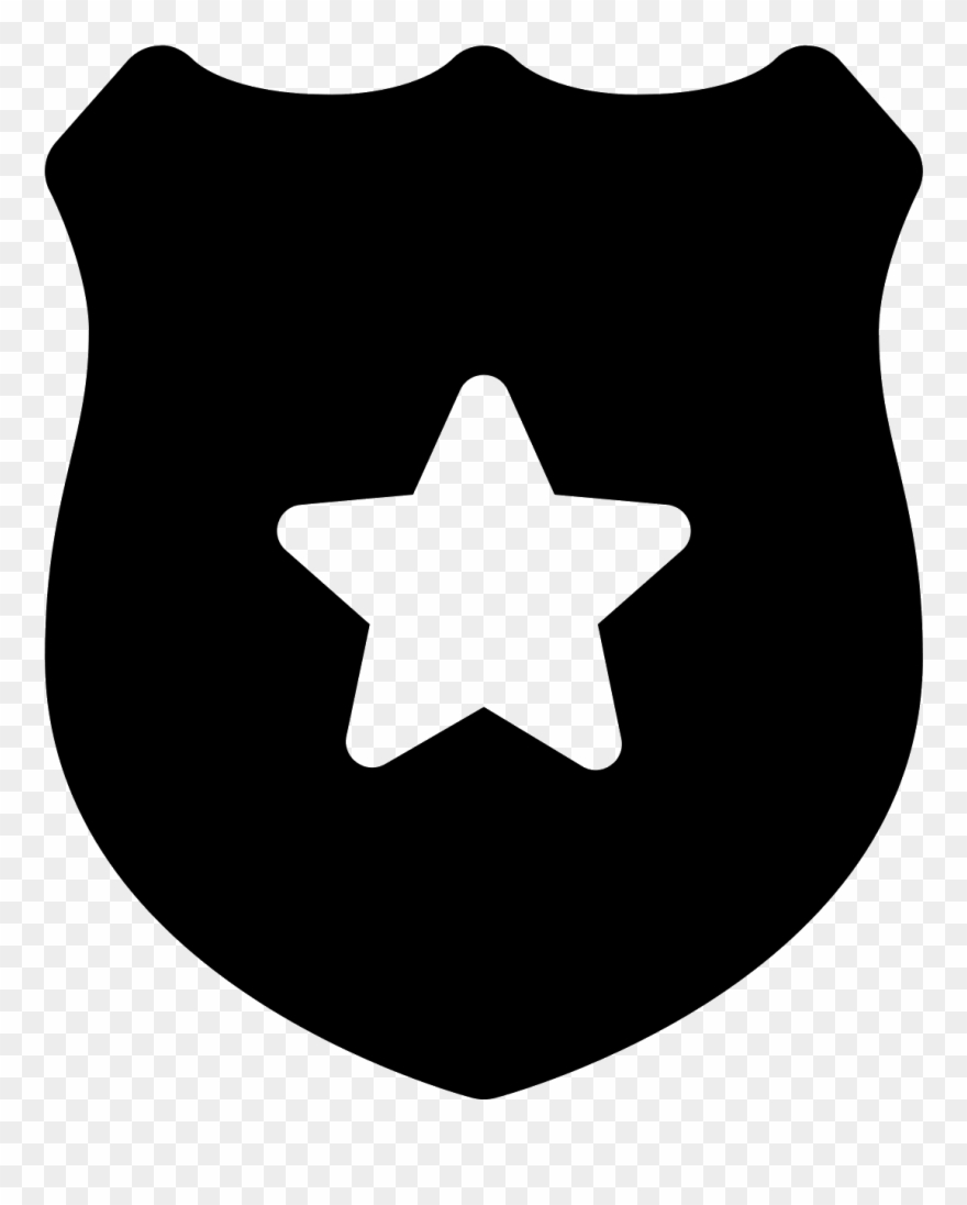 Badge icon clipart png library stock Police Badge Icon - Discord Server Logo Size Clipart (#1785133 ... png library stock