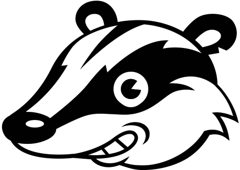 Badger clipart black and white banner freeuse download Badger Png Black And White & Free Badger Black And White.png ... banner freeuse download