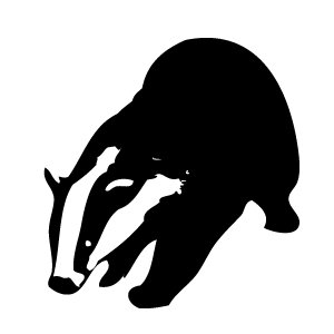 Badger clipart black and white clip art free library Black And White Badger Clipart | Clipart Panda - Free Clipart Images clip art free library