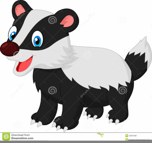 Badger clipart images png black and white Cartoon Badger Clipart   Free Images at Clker.com - vector clip art ... png black and white