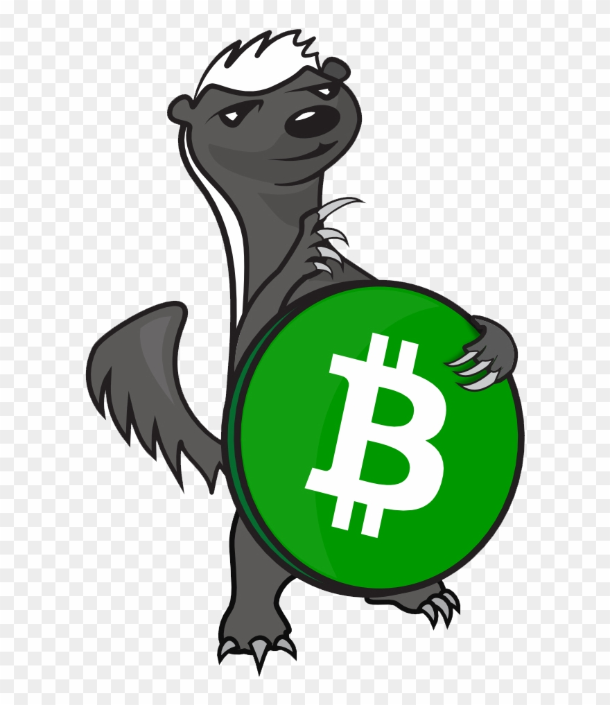Badger in the honeycomb clipart image black and white stock Honey Badger Bch - Bitcoin Clipart (#3184765) - PinClipart image black and white stock