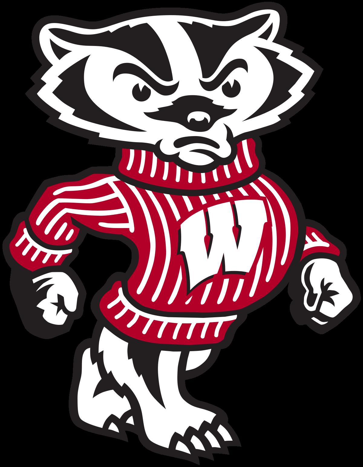 Badger mascot clipart picture transparent download Bucky Badger - Wikipedia picture transparent download