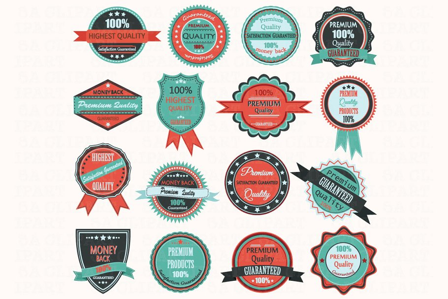 Badges and labels clipart clipart freeuse stock Vintage Badge Label Frame ClipArt clipart freeuse stock