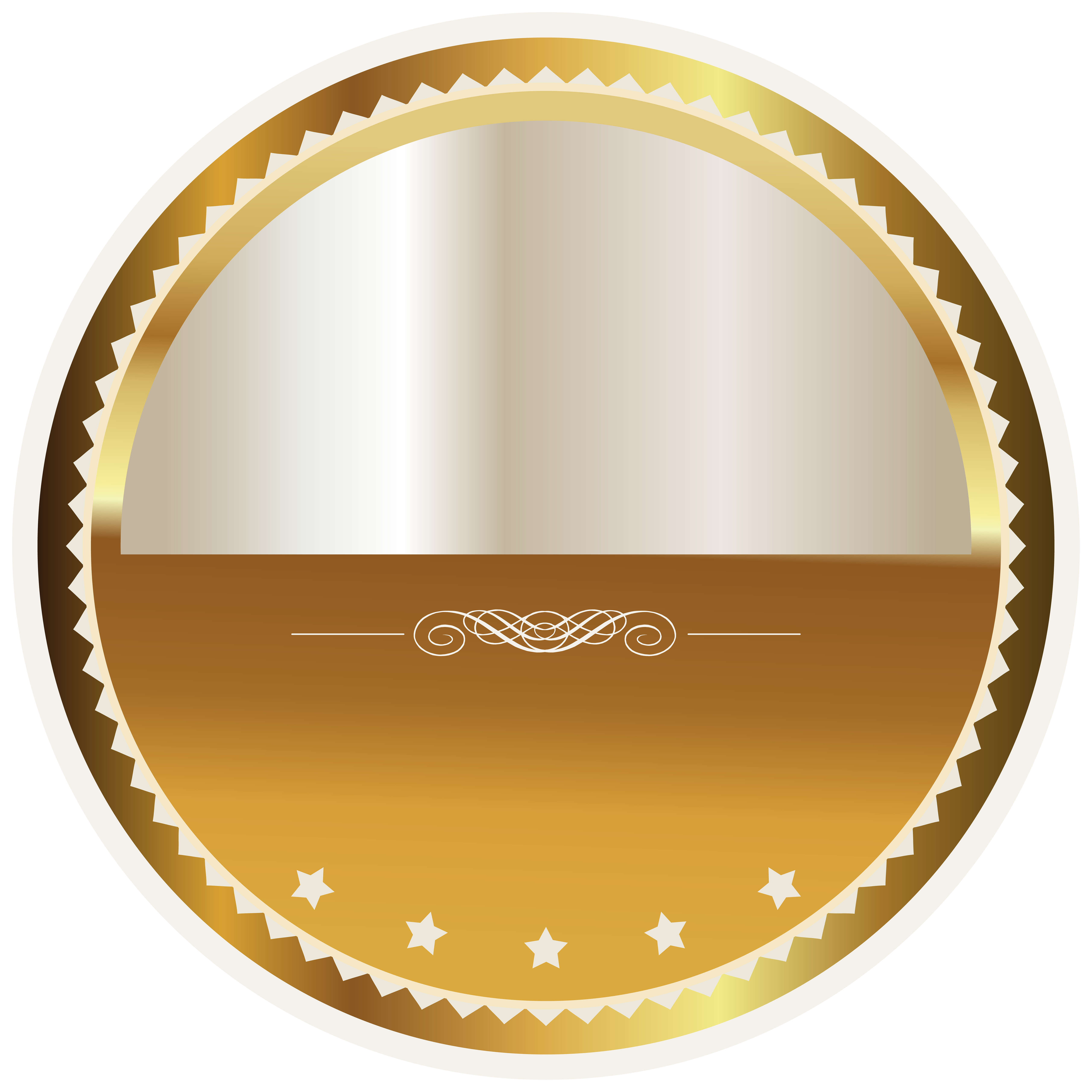 Badges and labels clipart png royalty free library Gold and White Seal Badge PNG Clipart Picture | Gallery ... png royalty free library