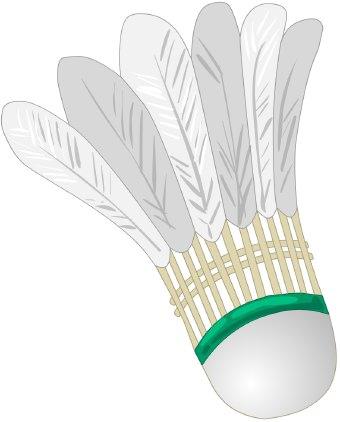 Badminton birdie clipart clipart library Badminton Birdie clip art clipart library