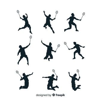 Badminton clipart vector free download jpg free Badminton Vectors, Photos and PSD files | Free Download jpg free
