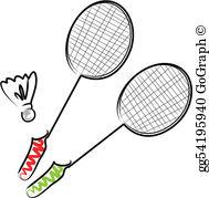 Badmiton clipart png Badminton Clip Art - Royalty Free - GoGraph png