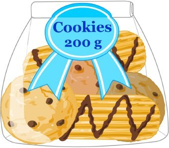 Bag of cookies clipart picture free library Bag of cookies clipart 7 » Clipart Portal picture free library