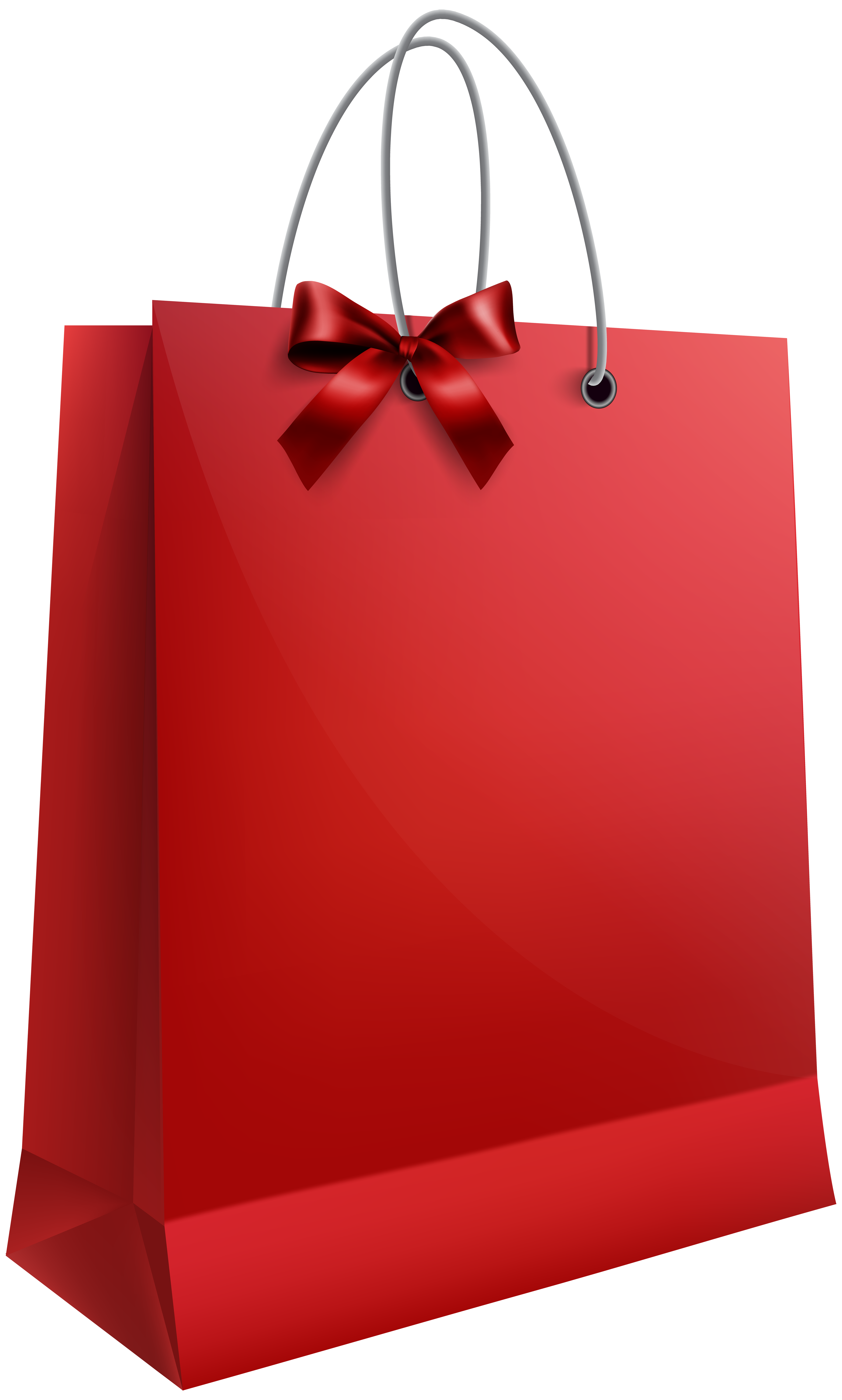 Bag of gifts clipart graphic free stock Red Gift Bag with Bow PNG Clip Art Image | Gallery Yopriceville ... graphic free stock