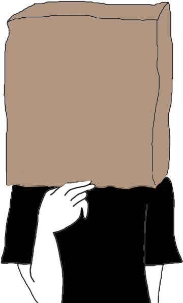 Bag over head clipart jpg library library Paper Bag Over Your Head Dream Meaning - Paper Bag Over Head Cartoon ... jpg library library