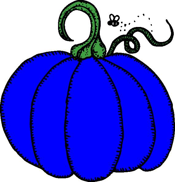 Halloween silhouette clipart pumpkin jpg freeuse library Blue Pumpkin Clip Art at Clker.com - vector clip art online, royalty ... jpg freeuse library
