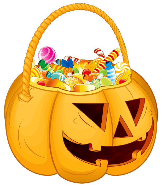 Halloween candy bowls clipart vector library Halloween candy clipart vector library