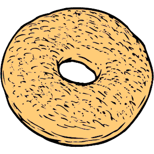 Bagel clipart png transparent library Bagel 2 clipart, cliparts of Bagel 2 free download (wmf, eps, emf ... png transparent library