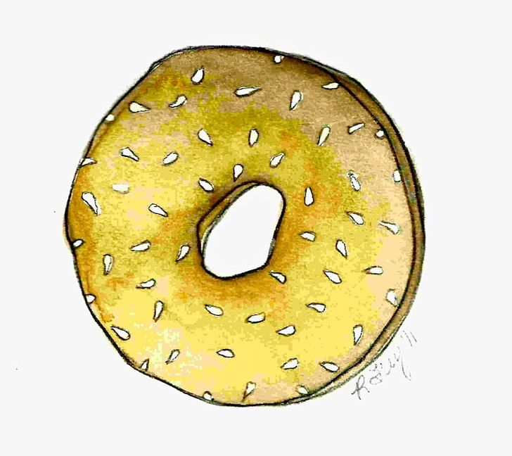 Bagel clipart banner freeuse stock Bagel Breakfast Sesame PNG, Clipart, Bagel, Bagel And Cream Cheese ... banner freeuse stock