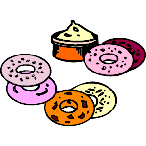 Bagel with cream cheese clipart clipart library Free Breakfast Bagels Cliparts, Download Free Clip Art, Free Clip ... clipart library