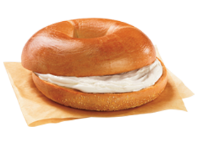 Bagel with cream cheese clipart vector free Bagels   Dunkin\'® vector free