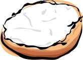 Bagel with cream cheese clipart png Customize 6+ Bagel And Cream Cheese Clip Art and Menu Graphics ... png