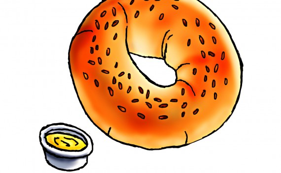 Bagels and breakfast free clipart banner Free Bagel Cliparts, Download Free Clip Art, Free Clip Art on ... banner