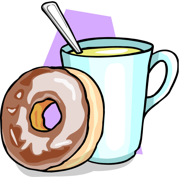 Coffee and doughnuts clipart clip art free library Bagels Clipart | Free download best Bagels Clipart on ClipArtMag.com clip art free library