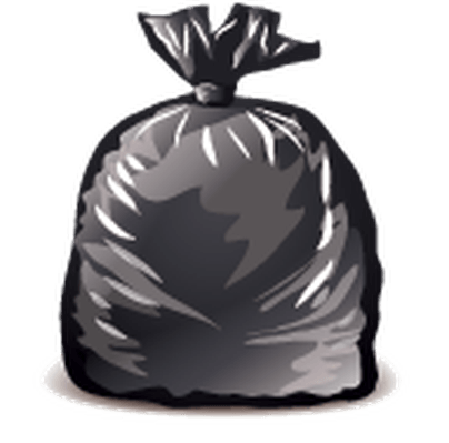 Bags trash clipart image transparent stock Trash Bag Cliparts - Cliparts Zone image transparent stock