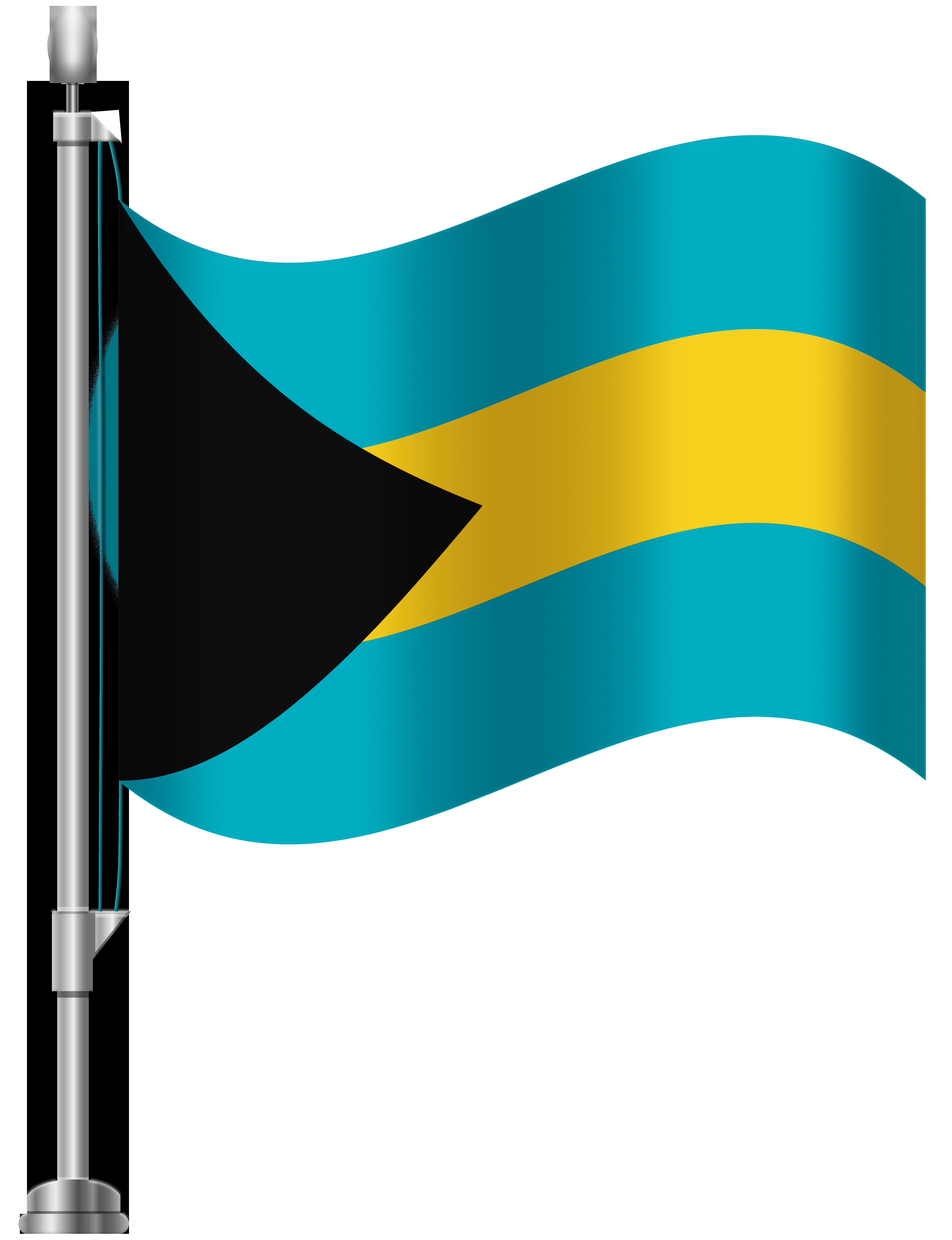 Bahamas clipart clipart stock Bahamas Flag PNG Clip Art - Best WEB Clipart clipart stock