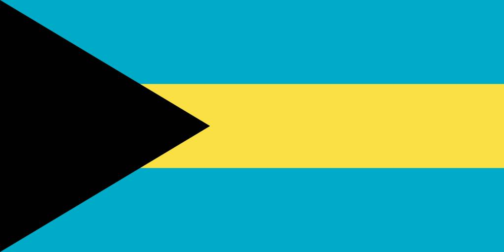 Bahamas clipart graphic library download The Bahamas flag clipart - country flags graphic library download