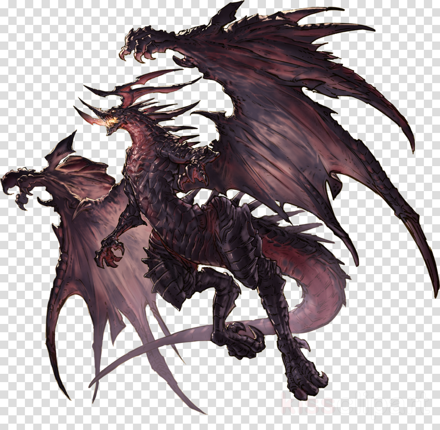 Bahamut clipart banner free library Dragon, Illustration, Wing, transparent png image & clipart free ... banner free library