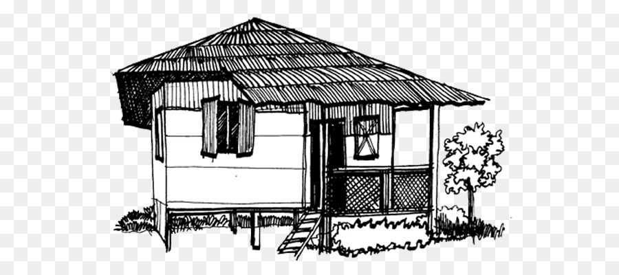 Bahay kubo clipart black and white svg transparent Building Background clipart - House, Home, Hut, transparent clip art svg transparent
