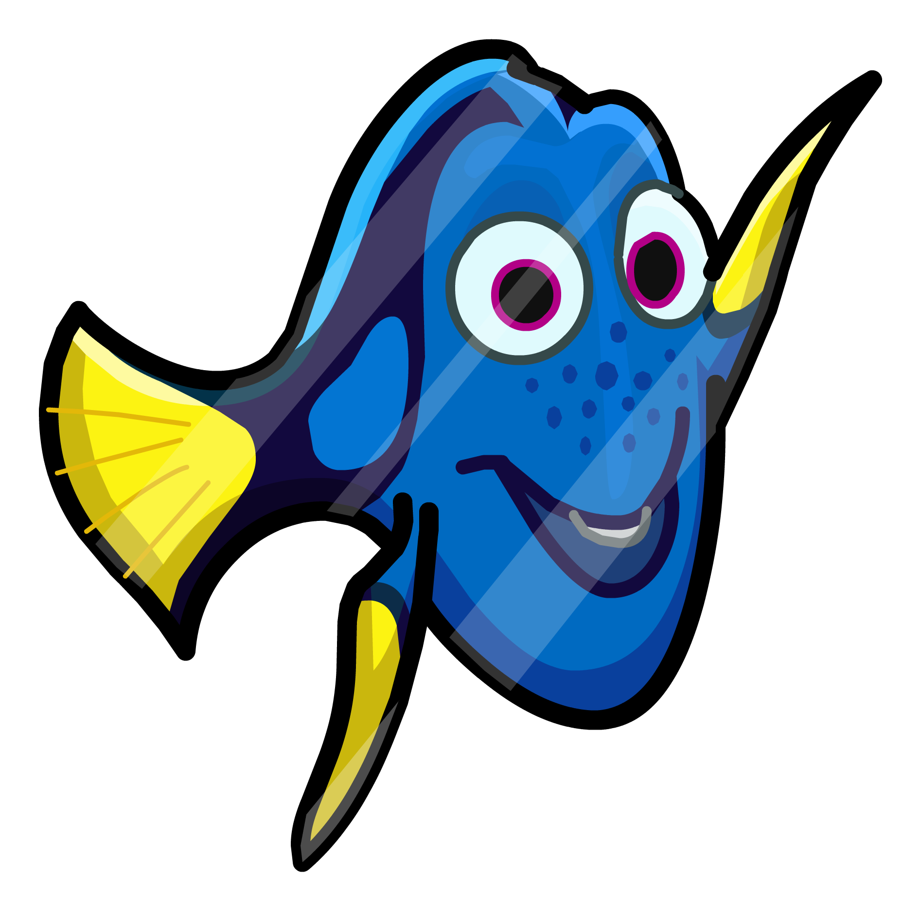 Bailey from dory fish clipart png Finding Dory Party interface | Club Penguin Wiki | FANDOM powered by ... png