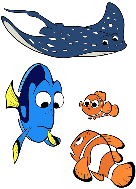 Disney angel fish dory clipart png library stock Finding Dory Clip Art | Disney Clip Art Galore png library stock