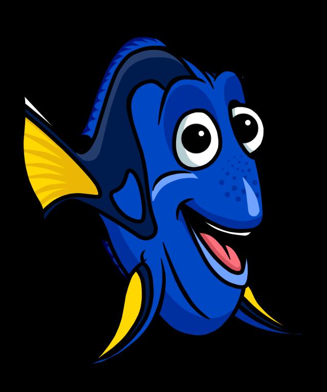 Bailey from dory fish clipart clip art 28+ Collection of Dory Fish Clipart | High quality, free cliparts ... clip art