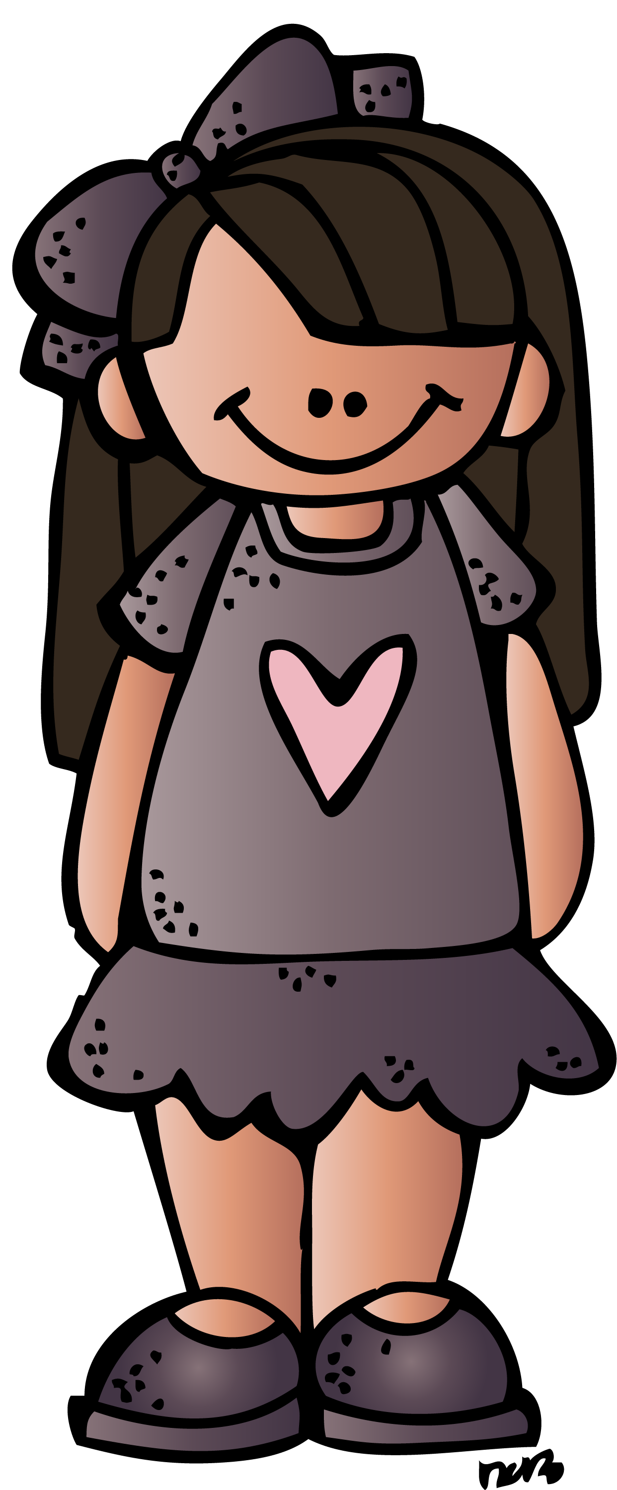 School closed clipart clip freeuse girl 2 ts (c) melonheadz 13 colored.png (1242×2999) | MELONHEADZ ... clip freeuse