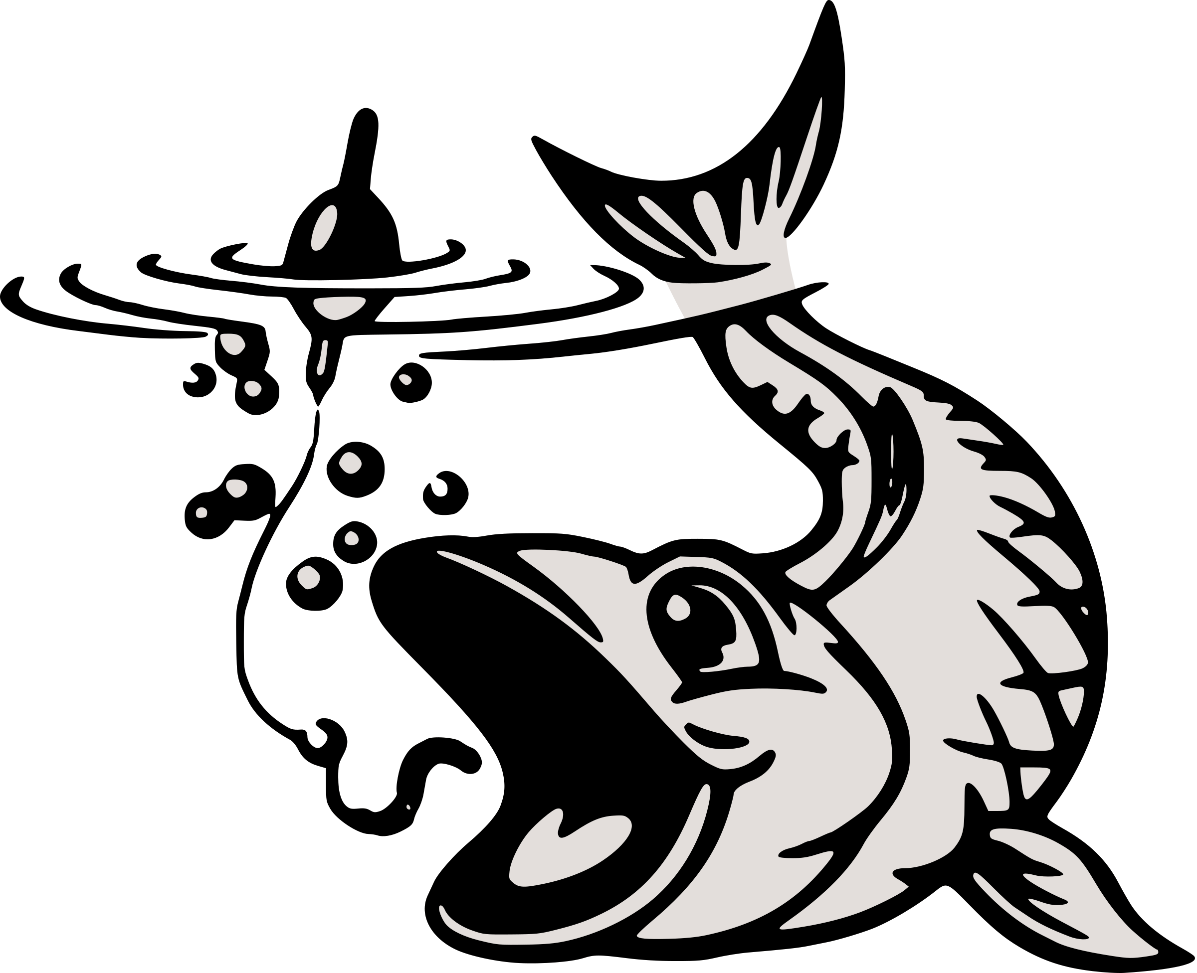 Fish hook clipart black and white clip free library Clipart - baited clip free library